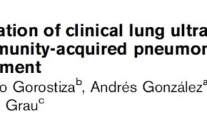 Pediatric pneumonia with #POCUS