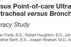 OR-based study of #POCUS for Airway Confirmation