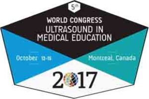 World Congress Ultrasound in Medical Education, October 12-15, 2017, Montréal